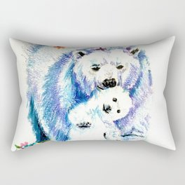 Mama Bear Lovin Rectangular Pillow
