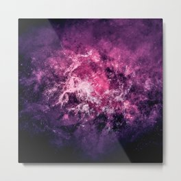 Nebula Space v5 Metal Print