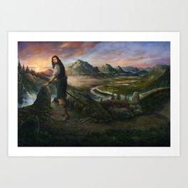 The Passage of Munroe Art Print