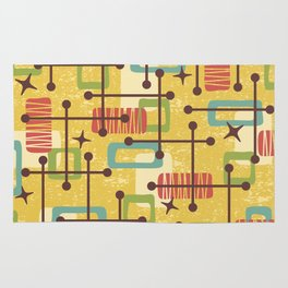 Mid Century Modern Abstract Pattern 773 Rug