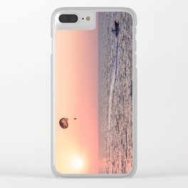 Sunny happiness Clear iPhone Case