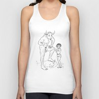 lolita Tank Tops featuring Lolita by Required Animals