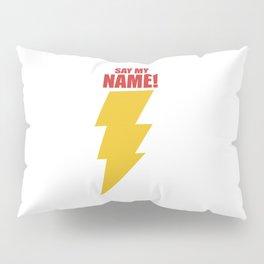 Shazam (Say My Name!) DC Comics Fan Art Pillow Sham