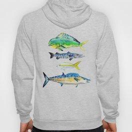 Caribbean Fish Hoody