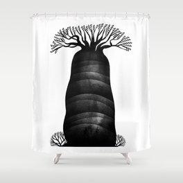 Baobab tree Shower Curtain