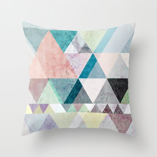 Graphic 21 Throw Pillow