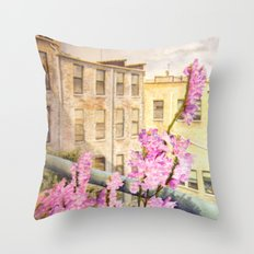 Urban Beauty Throw Pillow