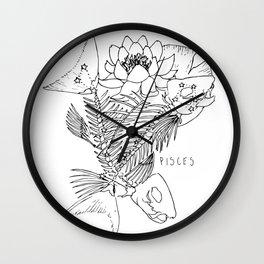 // Pisces Wall Clock