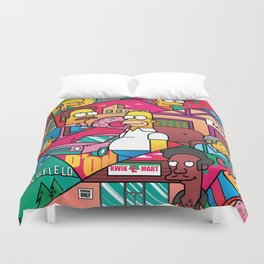 The Simpson Duvet Cover