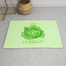 my cabbages! Rug