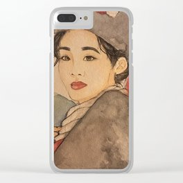 Hmong Traditional Clothes Clear iPhone Case