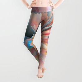 Digital Poppy Leggings