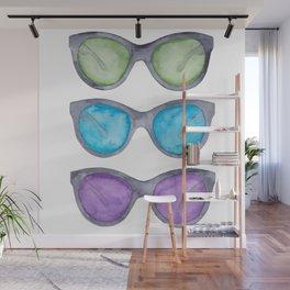 Sunglasses Wall Mural