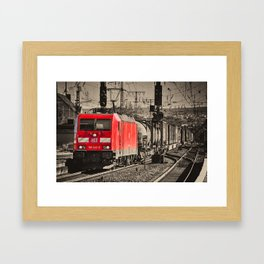 Koblenz Power Framed Art Print