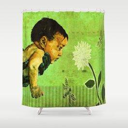 BEE tween worlds - infinity Shower Curtain