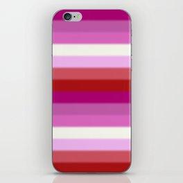 Lesbian Pride Flag v2 iPhone Skin