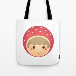 The Strawberry Boy Tote Bag