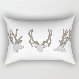 Three little Deer Rectangular Pillow