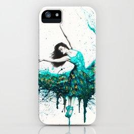 Chrysocolla Dance iPhone Case