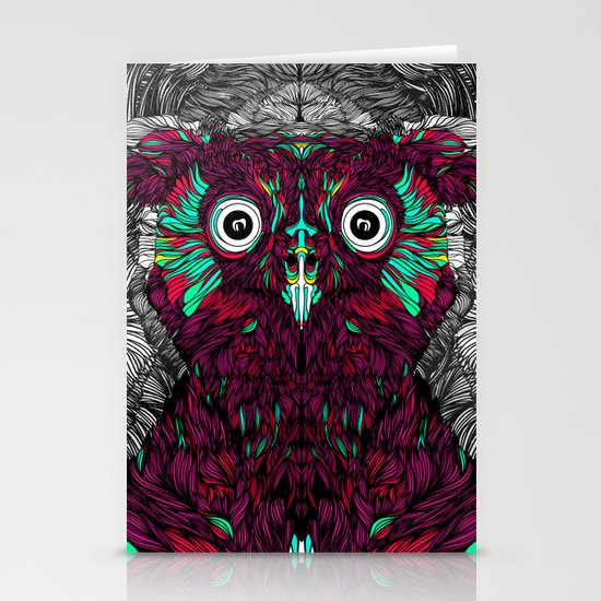 Owl You Need Is Love (Feat. Bryan Gallardo) Stationery Cards