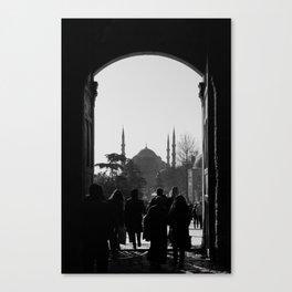 Door to Istanbul Canvas Print
