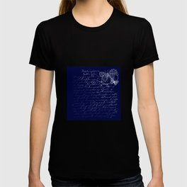 Blue Midnight Butterfly T-shirt