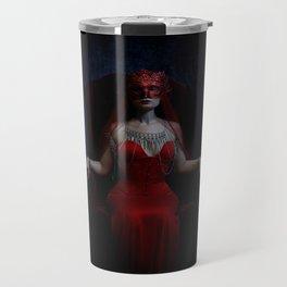 Crimson Majesty - vampire queen, gothic Travel Mug
