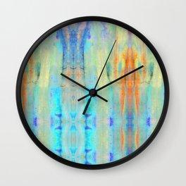 Aqua Crush Wall Clock