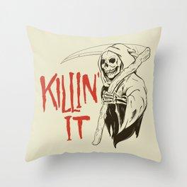 Killin It Throw Pillow