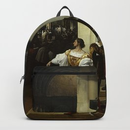 Francesco Hayez - The Lampugnani Conspiracy Backpack