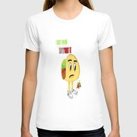taco T-shirts featuring Taco by Guacamole Design