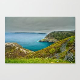 Cloudy Day at Signal Hill Canvas Print
