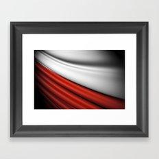 flag of Poland Framed Art Print