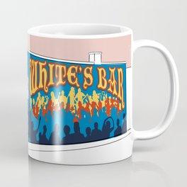 White's Bar- Pink Coffee Mug
