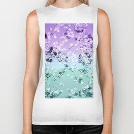 Mermaid Lady Glitter Stars #4 #shiny #decor #art #society6 Biker Tank