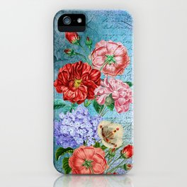Wall Flowers iPhone Case