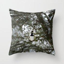 Snow 1 Throw Pillow