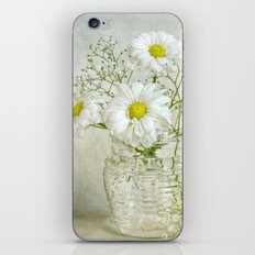 Simply white iPhone & iPod Skin