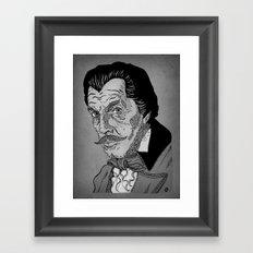 Vincent Price Framed Art Print