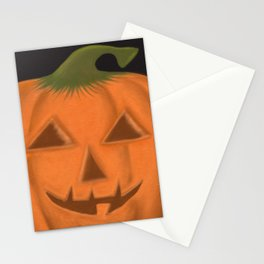 The Textured Pumpkin Stationery Cards