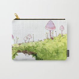 Mushrooms and Moss Carry-All Pouch