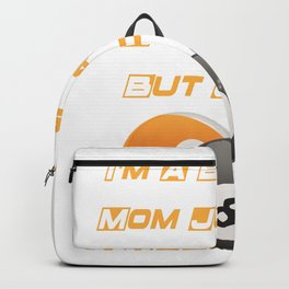 Bowling Mom Funny Mother Day Gift Player Bowling Mama Backpack
