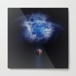 hot air ballon challenge Metal Print