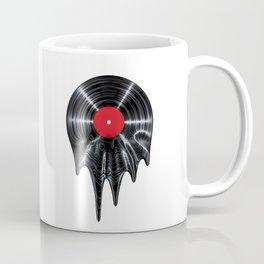 Melting vinyl / 3D render of vinyl record melting Coffee Mug