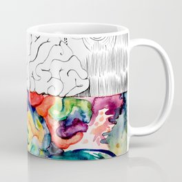 Right Left Brain Coffee Mug