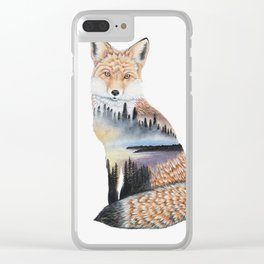 Spirit of the Fox Clear iPhone Case