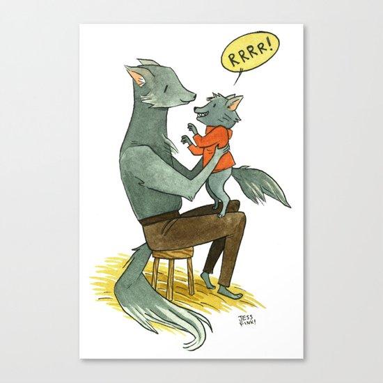 Wolfman and Wolfson  Canvas Print