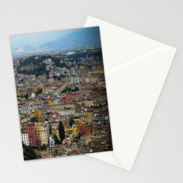 Napoli view Stationery Cards