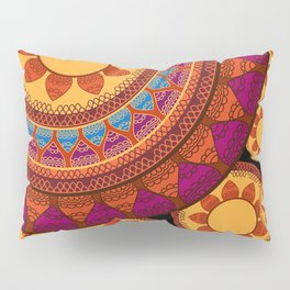 Ethnic Indian Mandala Pillow Sham