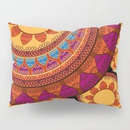 Ethnic Indian Mandala Pillow Sham